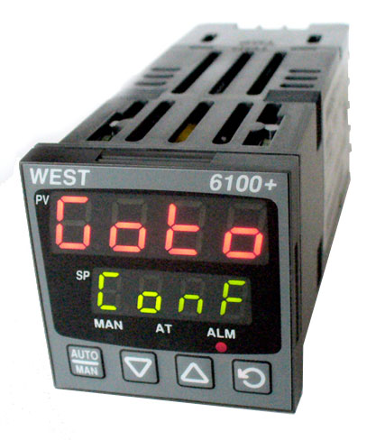 single loop controllers 6100 and 6400 west bg electric e k rh germany electric eu west 6100 plus manual 6100 Router Genie